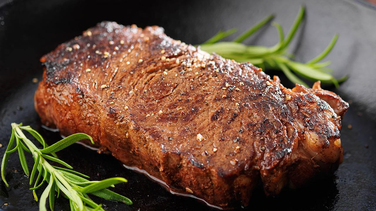Ny Strip Steak An Iconic Steak In New York And Beyond Just Cook