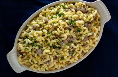 beef mac and cheese