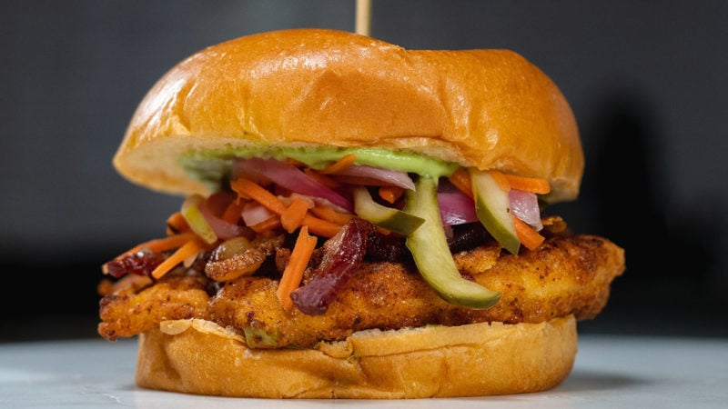 5-spice chicken sandwich