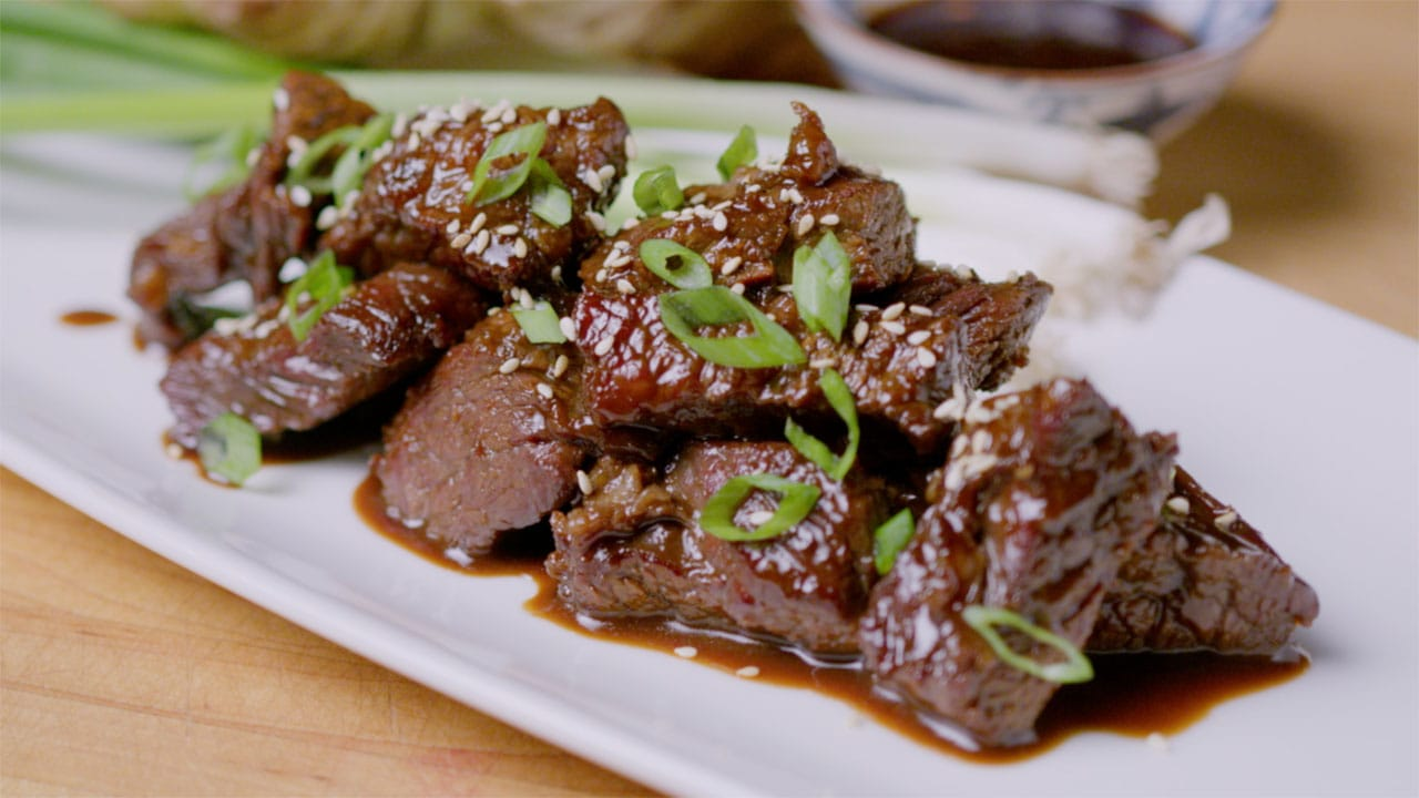korean barbecue steak tips
