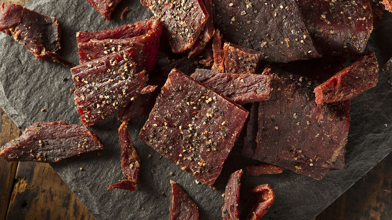 Beef Jerky In An Air Fryer The Right Cuts Of Beef And Tips For Homemade Jerky Just Cook
