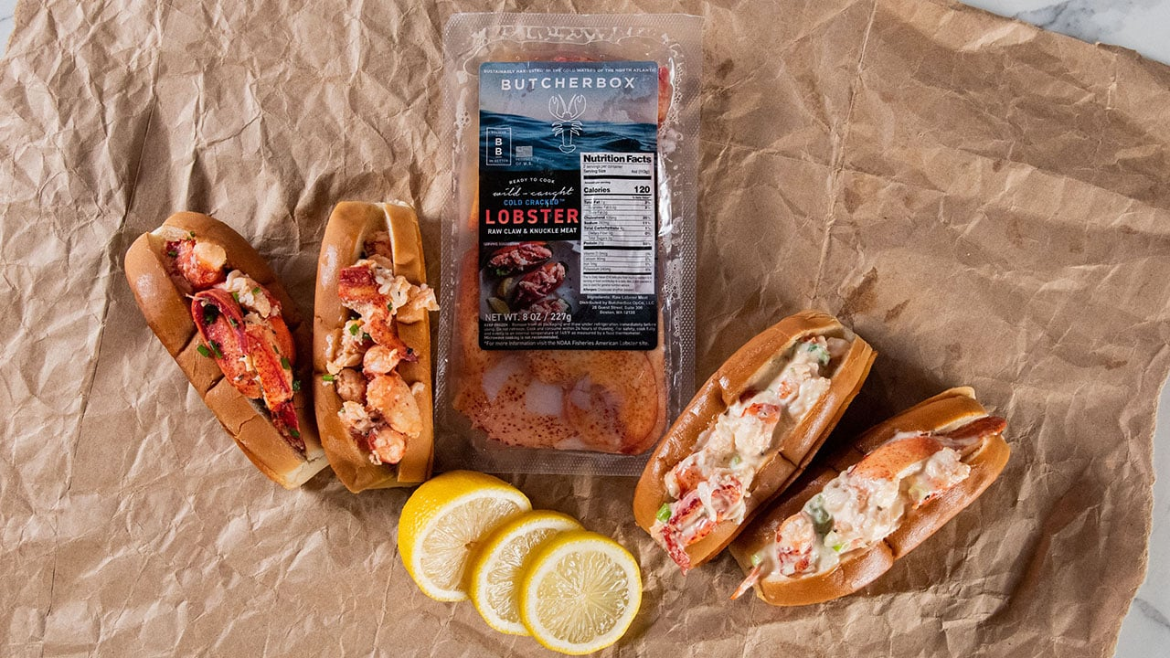 butcherbox lobster rolls
