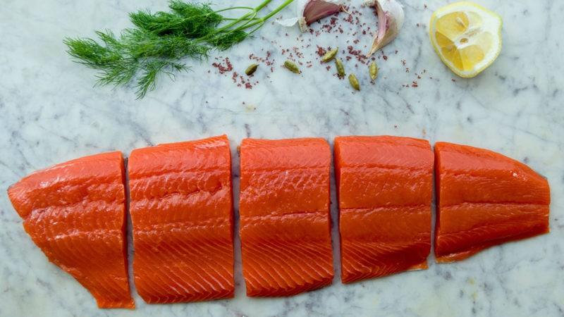 salmon as part of mediterranean diet